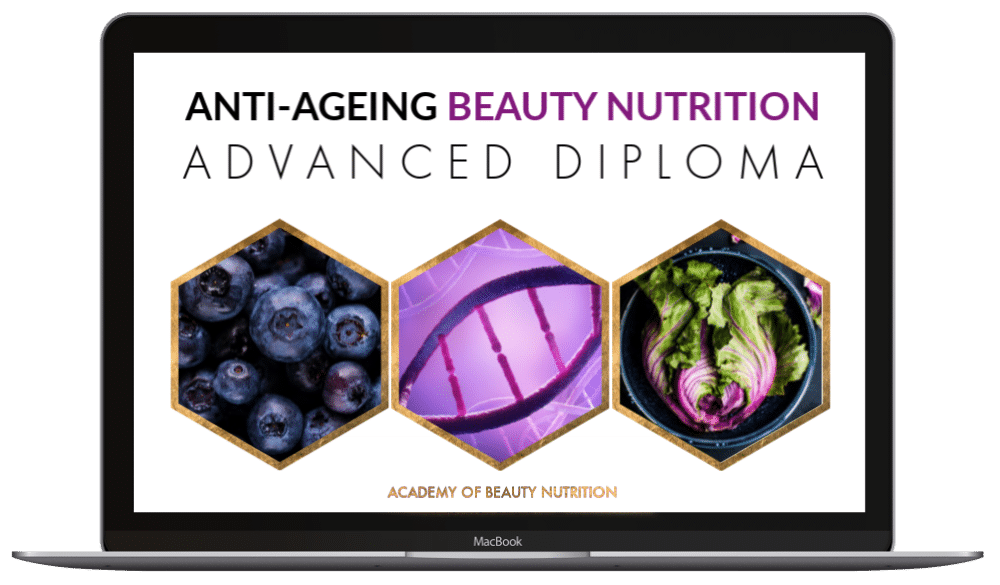 Advanced Diploma in Anti-Ageing Beauty Nutrition - image of macbook