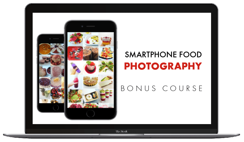 Smartphone Food Photography - course graphic