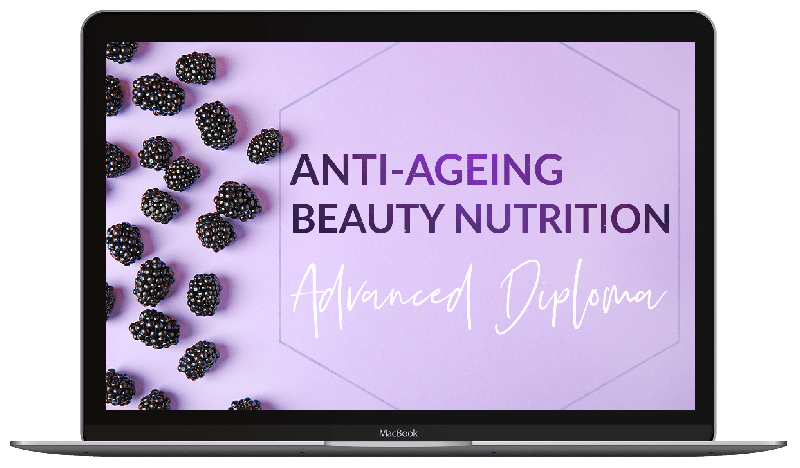 Advanced Diploma in Anti-Ageing Beauty Nutrition - course graphic