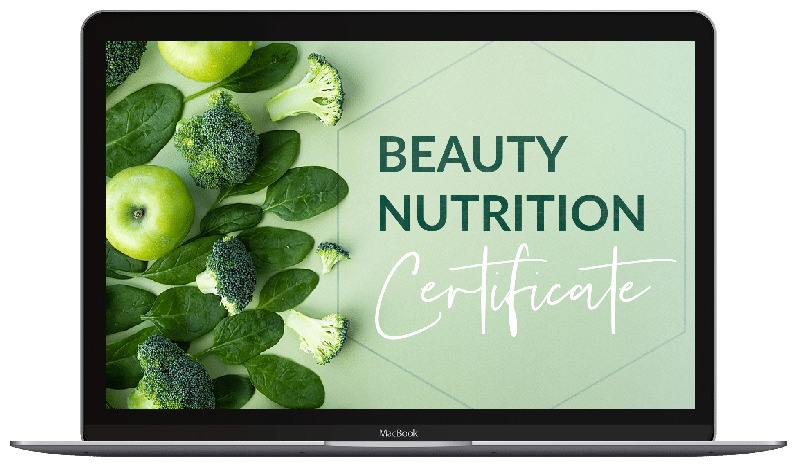 Certificate in Beauty Nutrition - macbook image
