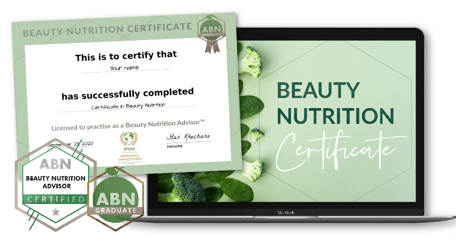 Certificate in Beauty Nutrition - course image