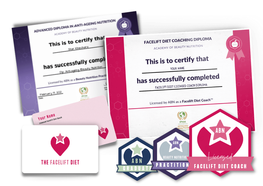 Course certificate and badge graphic