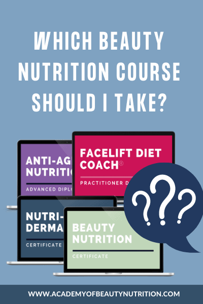 Blog graphic: which beauty nutrition course should I take?